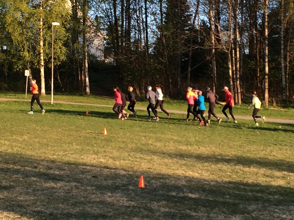 Løpegruppe og løpeteknikk kurs